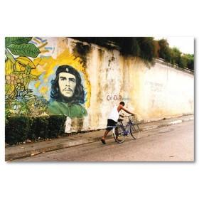 Αφίσα (Κούβα, che, δρόμος, τέχνη, πόλη)